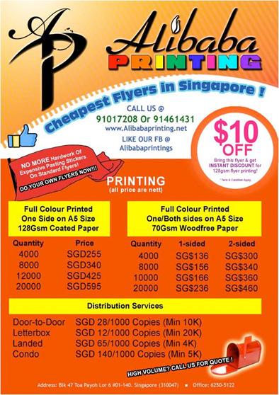 cheap flyer printing