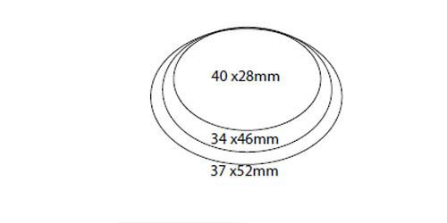 oval shape