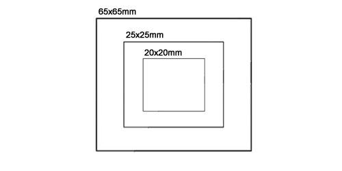 Squareshape Stamp