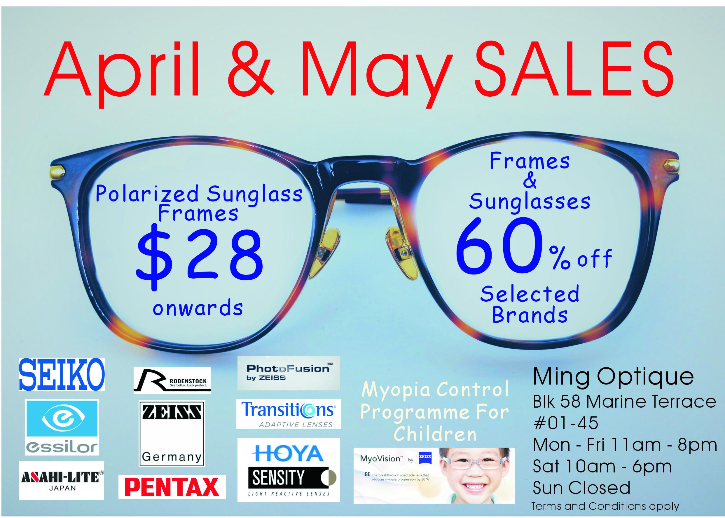 April May promo