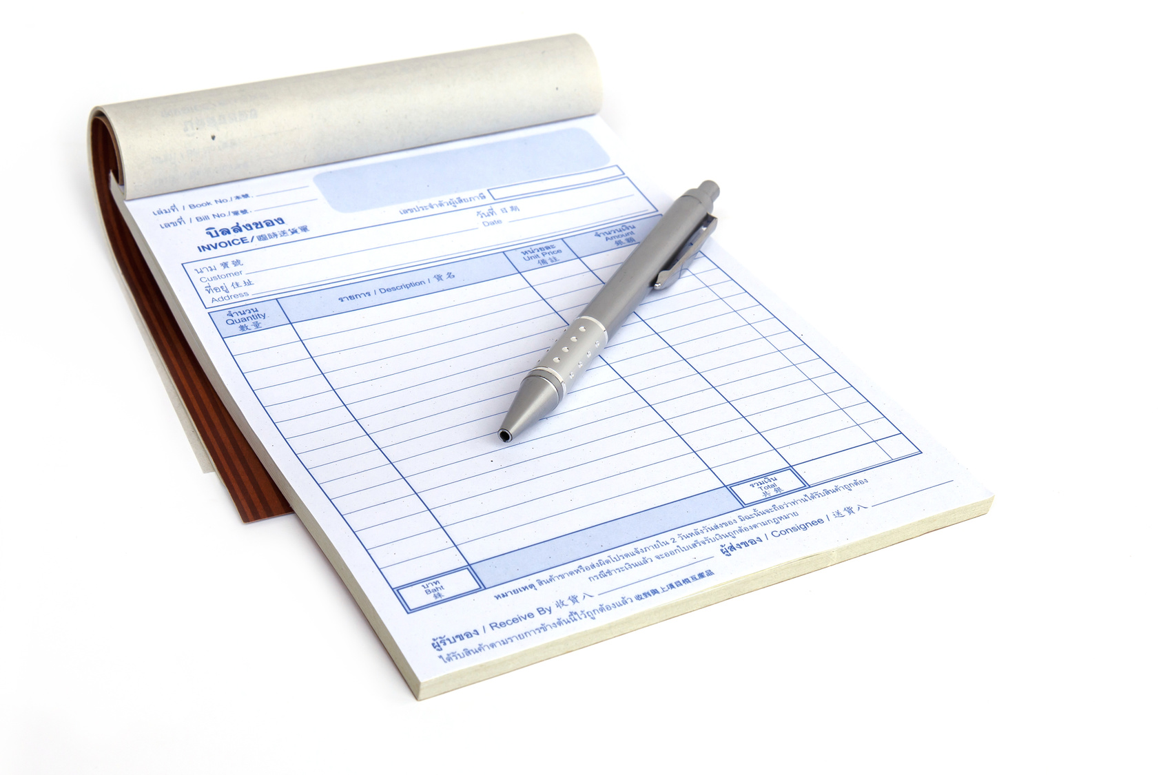 best ncr invoice book and receipt book printing singapore