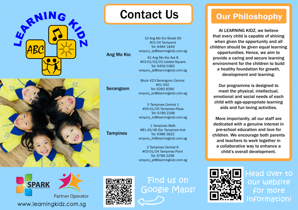 Flyers printing at Tampines Serangoon