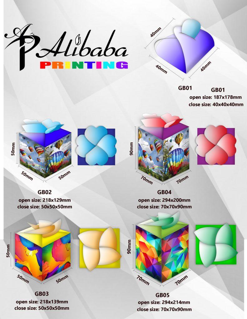 Urgent Custom Gift Box Packaging Printing Service Singapore