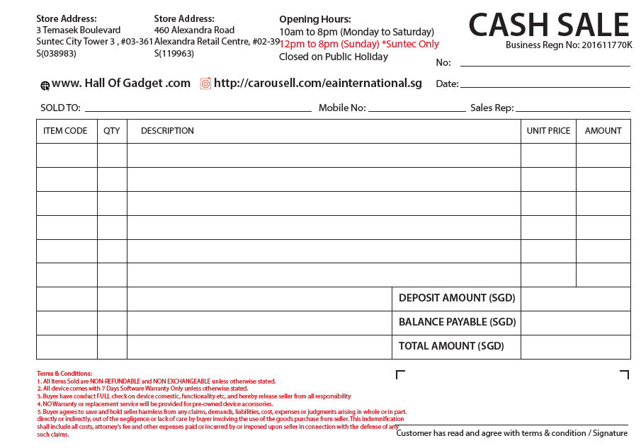 eb932554d Did you know that Alibaba Printing does not only print flyers and leaflets  but also prints receipts and vouchers? This receipt here, was made as one  of our ...