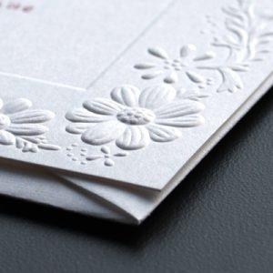 printed l shape folder