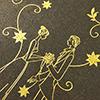 laser cut floral wedding invitations
