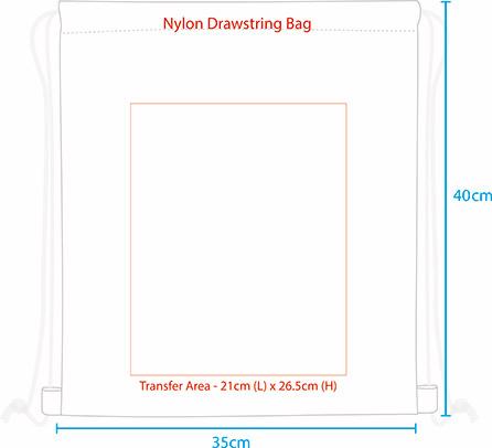 custom drawstring shoe bags
